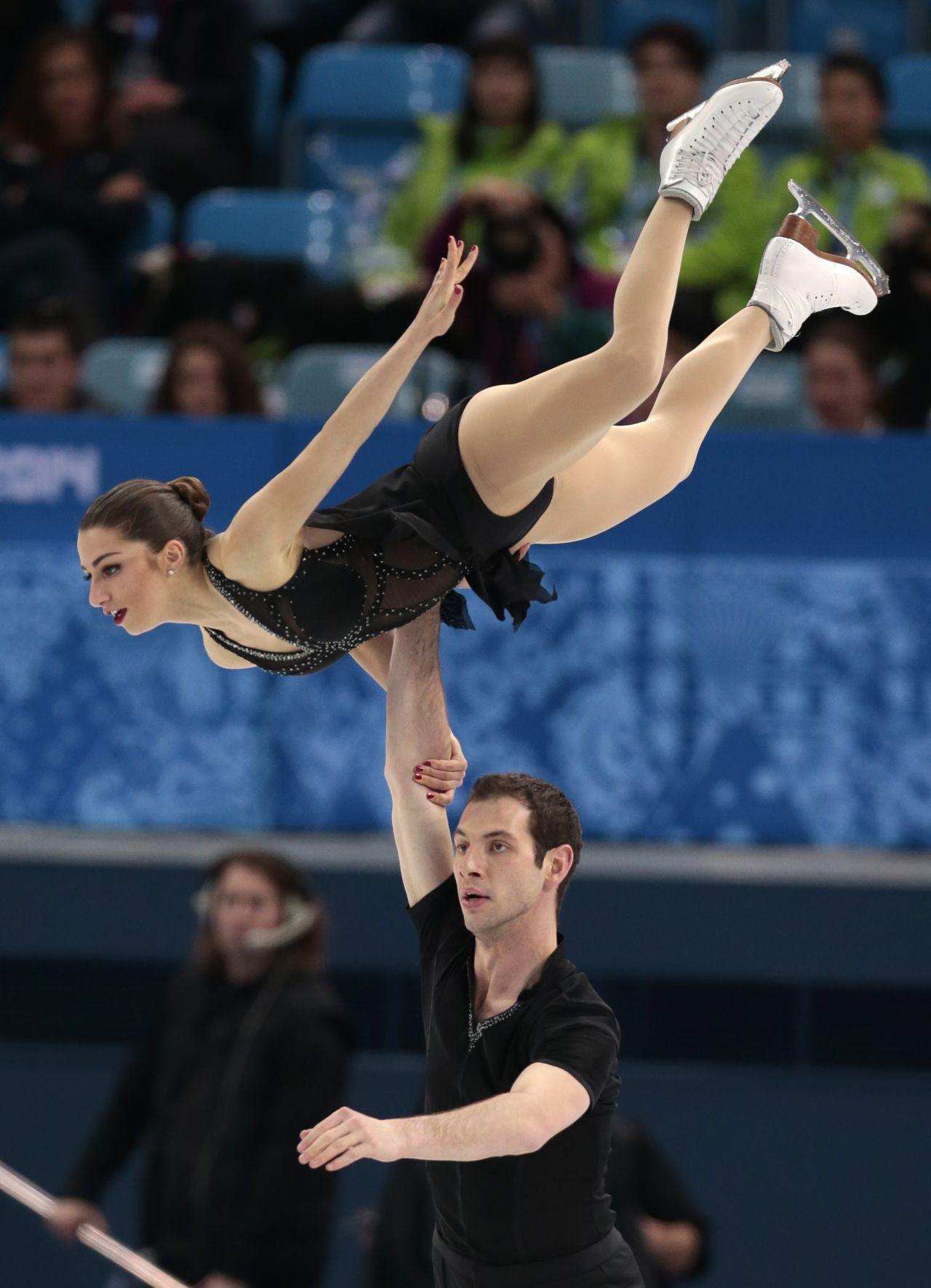Marissa Castelli - Sochi 2014 Winter Olympics - Figure