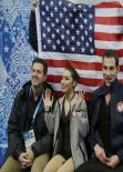 Marissa Castelli - Sochi 2014 Winter Olympics – Figure Skating Team Pairs Free Skating Program