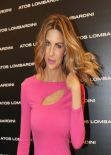 Martina Colombari - Sexy at Milano Fashion Week, February 2014