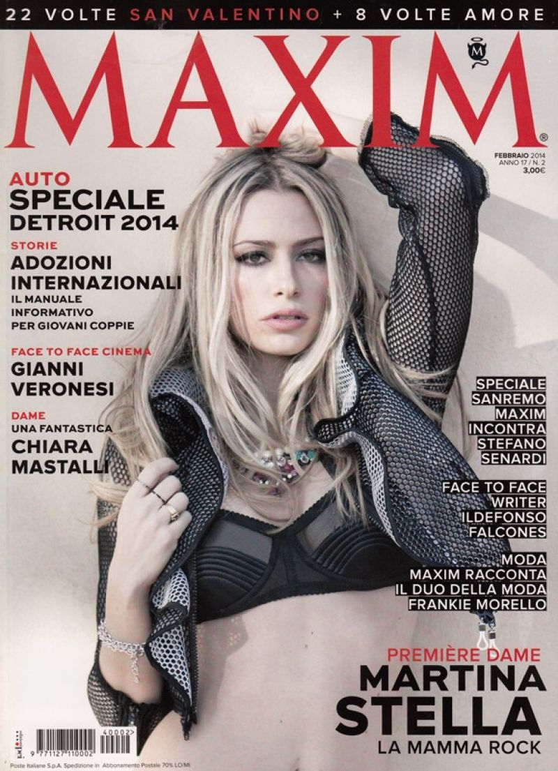 Martina Stella - Maxim Magazine - February 2014