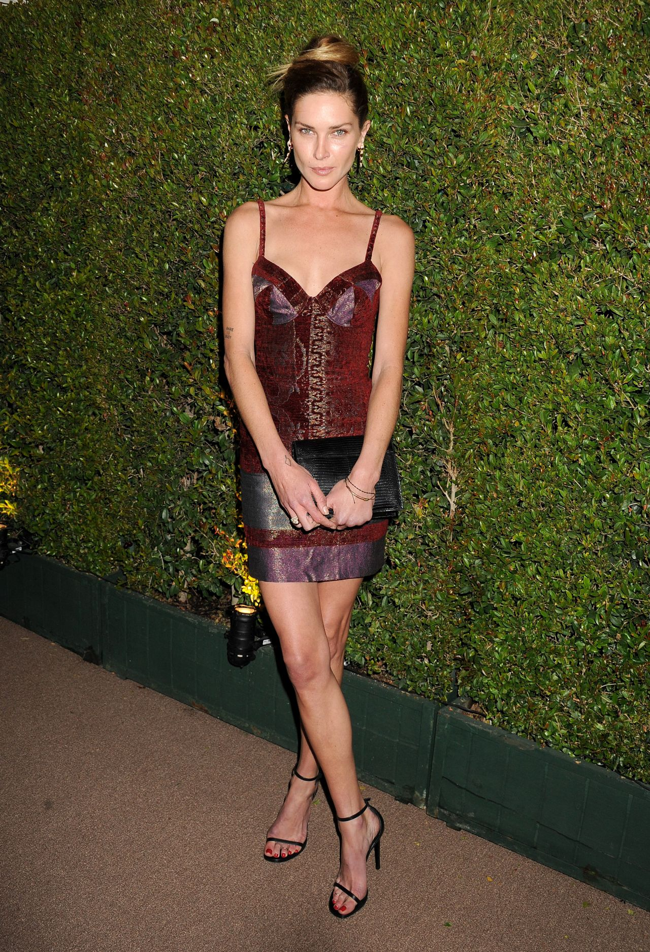 Maryna Linchuk - Decades of Glamour Event - West Hollywood, February 2014