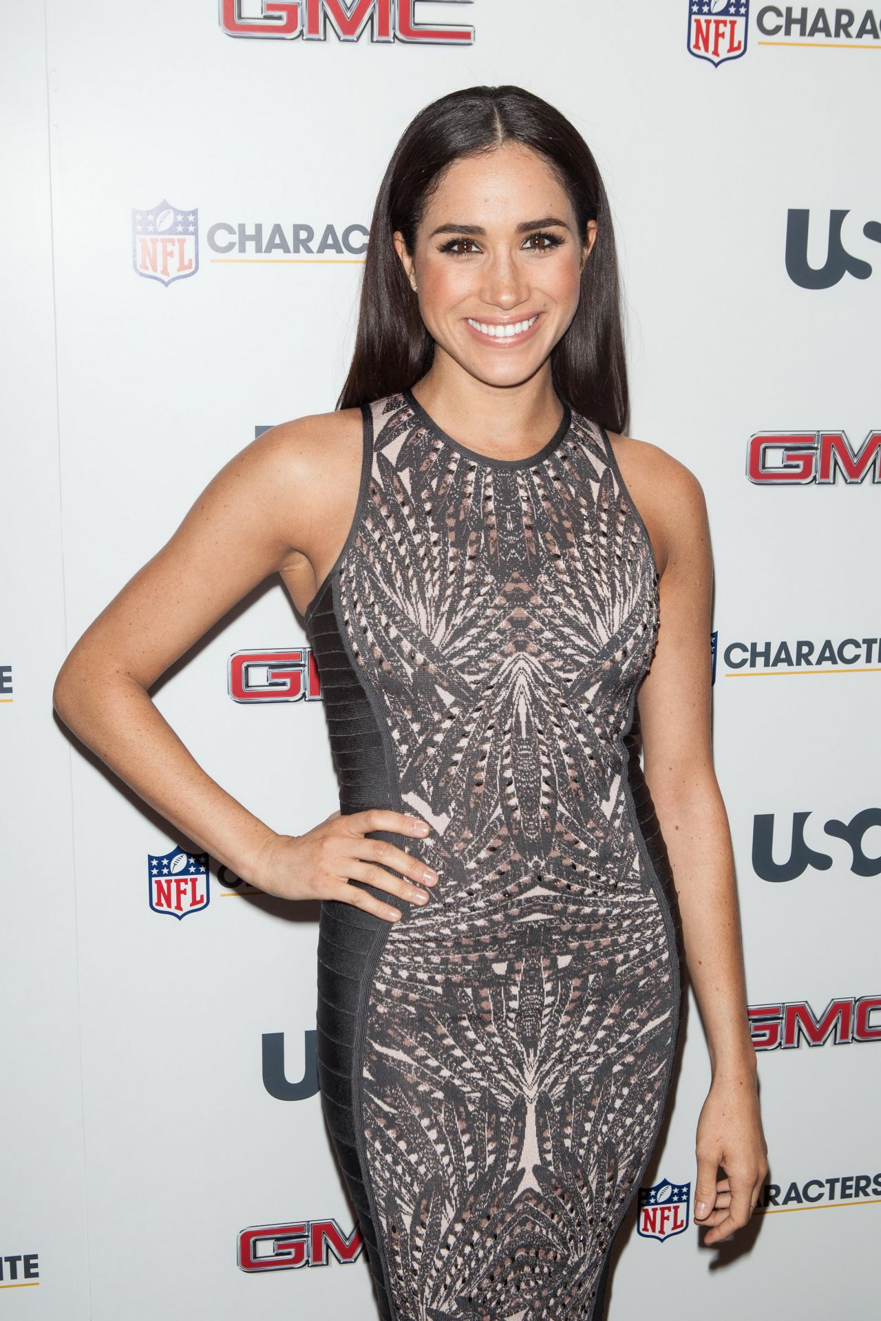 Meghan Markle 2014 Nfl Characters Unite At Sports