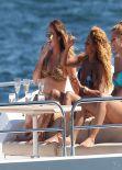 Melanie Mel B Brown Bikini Candids - Sydney, February 2014