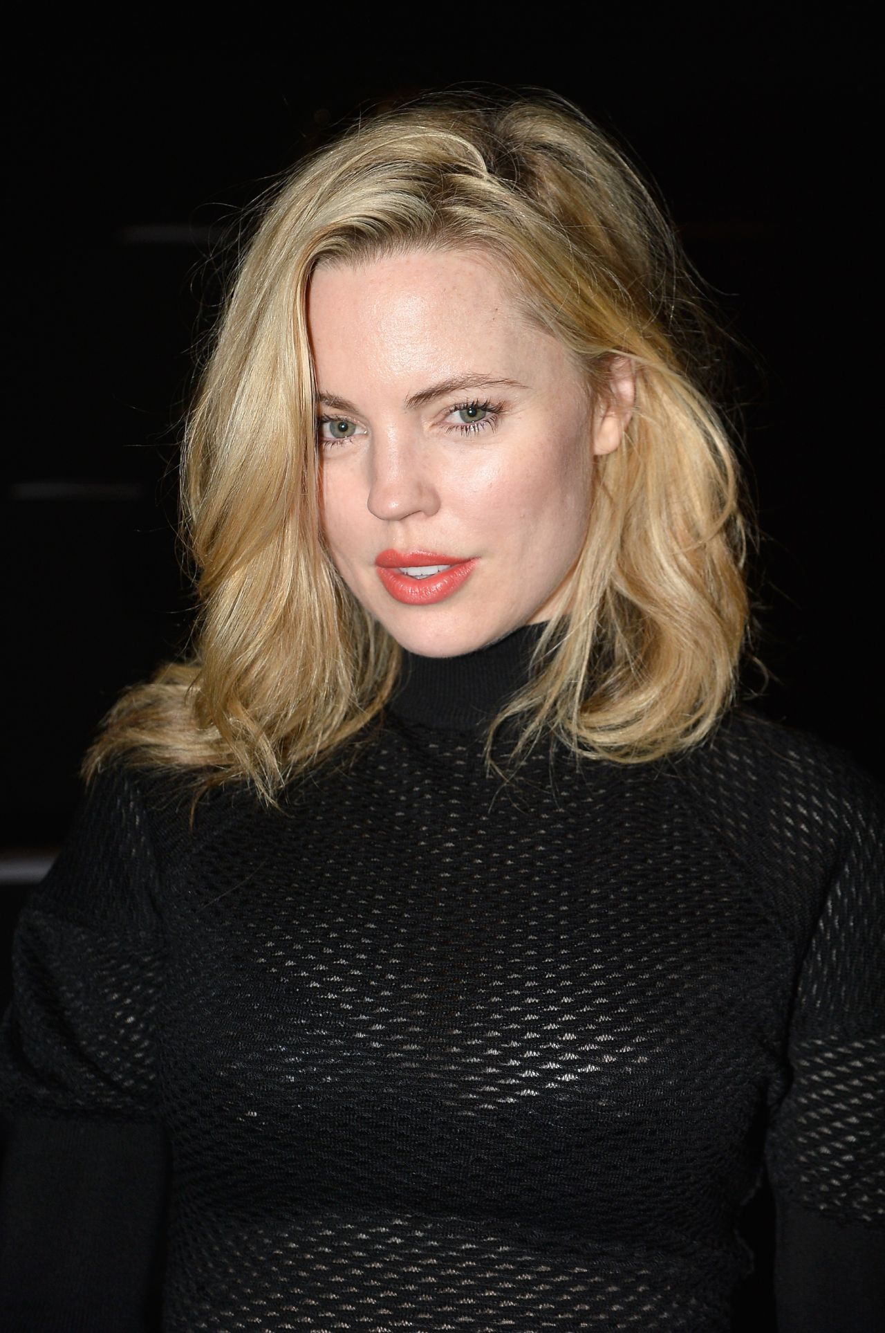 Melissa George - Nina Ricci Show at Paris Fashion Week