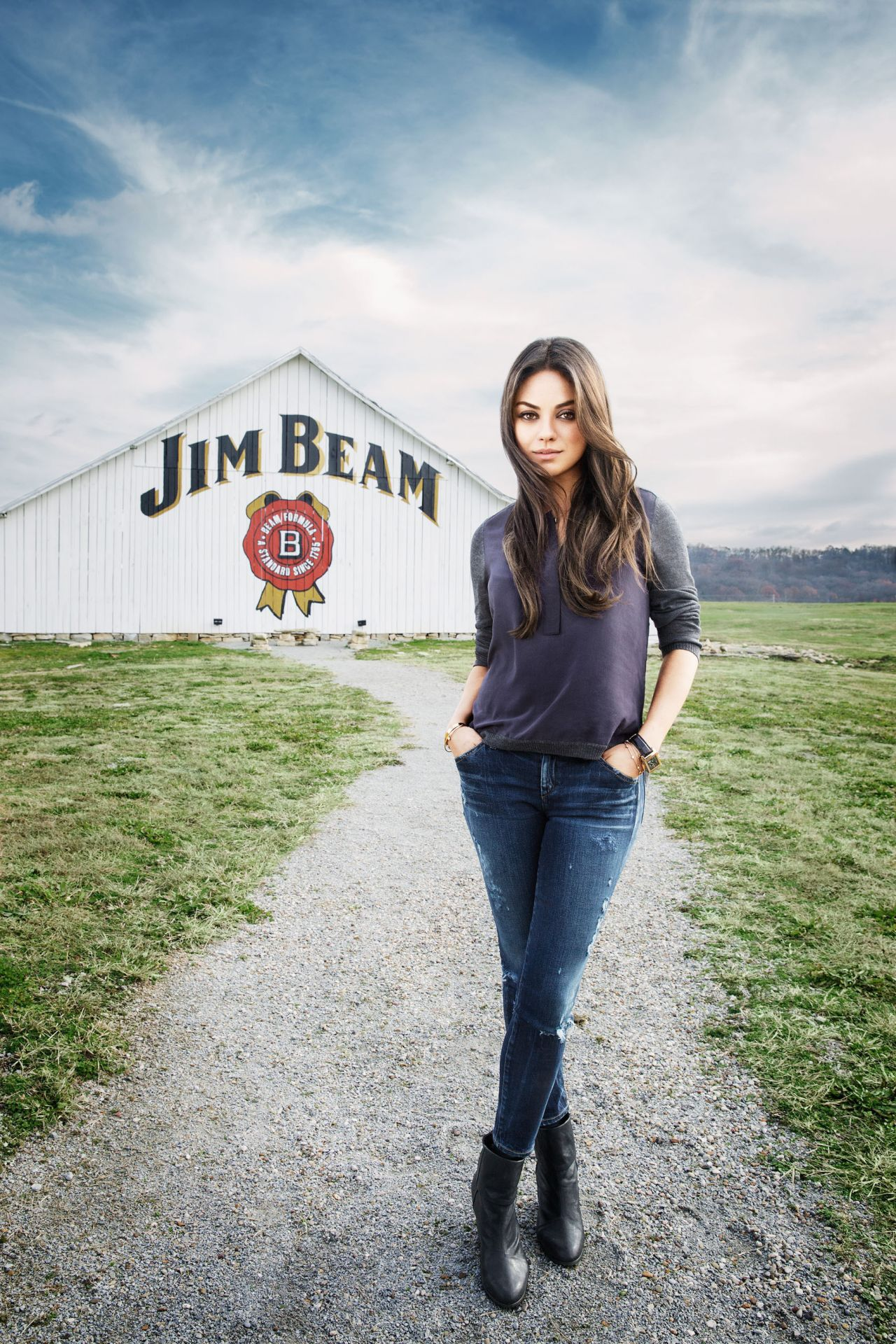 Mila Kunis - Jim Beam Promo Photo