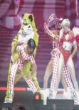 Miley Cyrus Performs at Bangerz Tour in Vancouver, February 2014