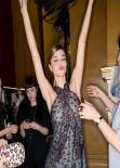 Miranda Kerr - Panty Visible Backstage