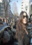 Monica Bellucci - Arriving at the Dolce & Gabbana FW14 Show in Milan, Febraury 2014