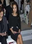 Myleene Klass Attends London Fashion Week Autumn/Winter 2014