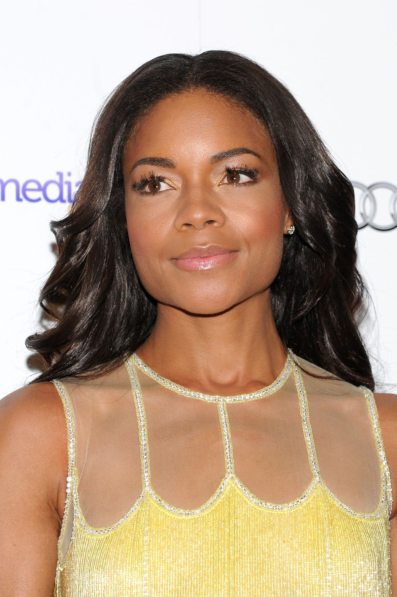 Naomie Harris Wearing a Naeem Khan at London Critics Circle Film Awards at The Mayfair Hotel - February 2014