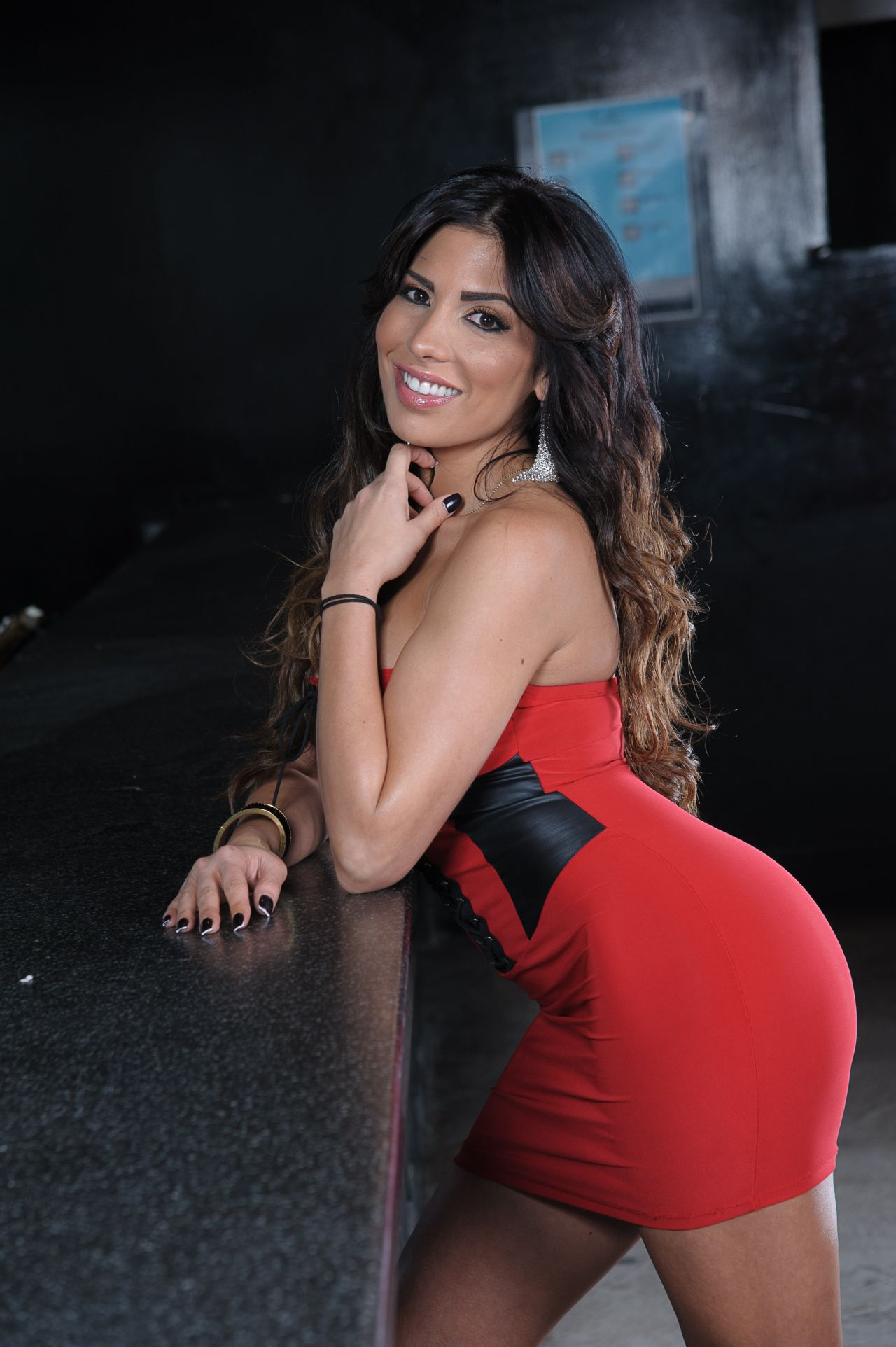 Natalie Guercio Mob Wife Photoshoot At Lit Ultrabar In
