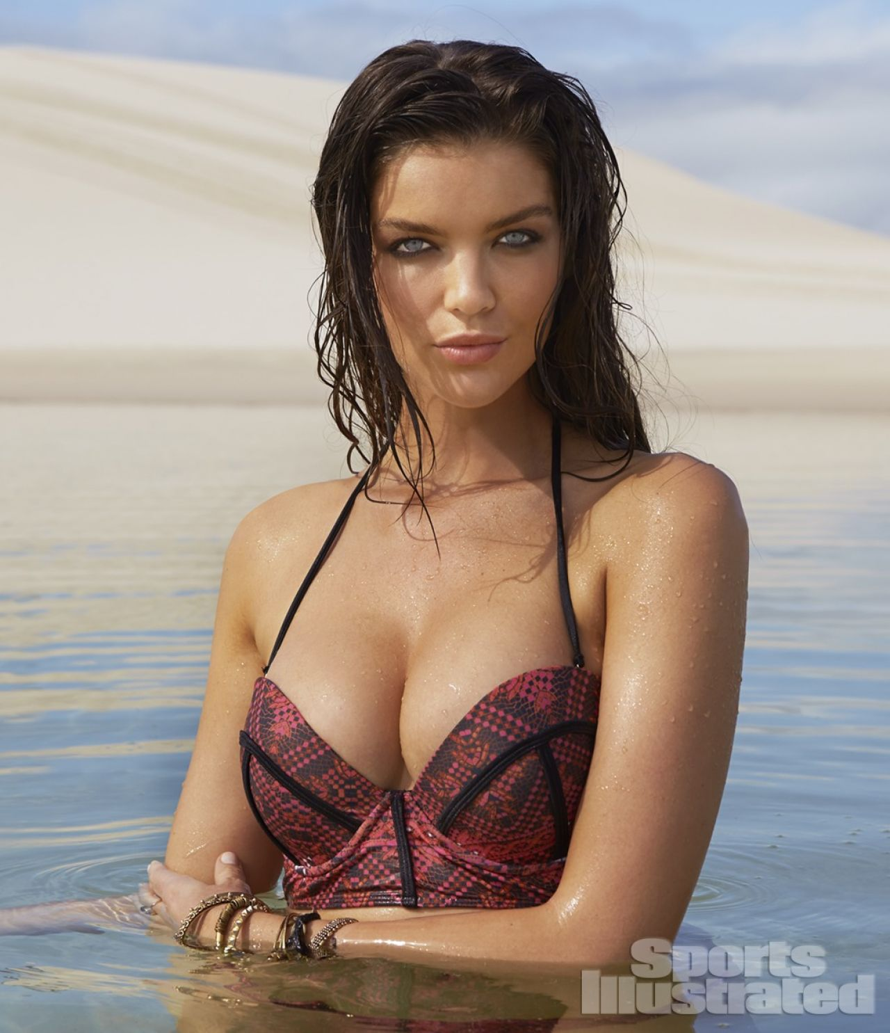 Natasha Barnard in Bikini  - Sports Illustrated 2014 Swimsuit Issue