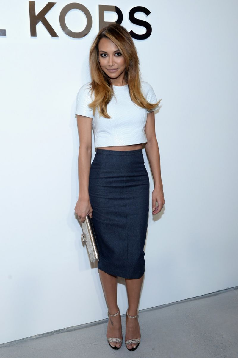 Naya Rivera - Michael Kors Fashion Show in New York City, February 2014