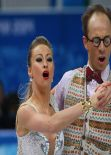 Nelli Zhiganshina - Sochi 2014 Winter Olympics – Team Ice Dance (Short Dance)