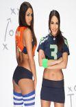Nicole Garcia & Brianna Garcia - Bella Bowl V Photoshoot (2014)