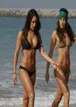 Nicole Garcia & Brianna Garcia (Bella Twins) Bikini Photos - Los Angeles Beach, February 2014