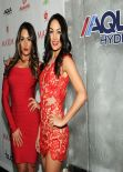 Nicole Garcia & Brianna Garcia (Bella Twins) - Maxim Big Game Weekend - January 2014