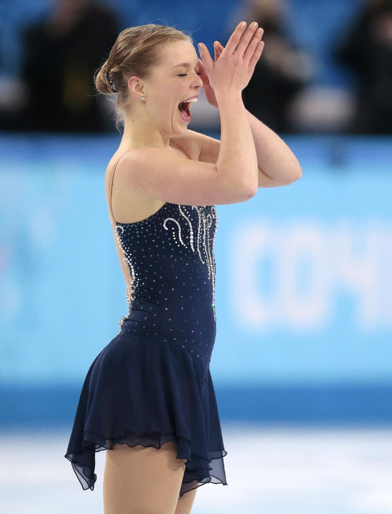 Nicole Rajicova - Ladies Short Program – 2014 Sochi Winter Olympics