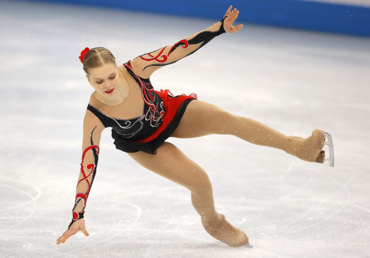 Nicole Rajicova - Women's Figure Skating Free Program – 2014 Sochi Winter Olympics