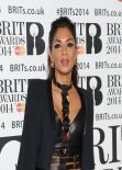 Nicole Scherzinger - 2014 BRIT Awards in London, February 2014