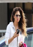 Nicole Scherzinger Street Style - 14K Gold in Los Angeles - January 2014