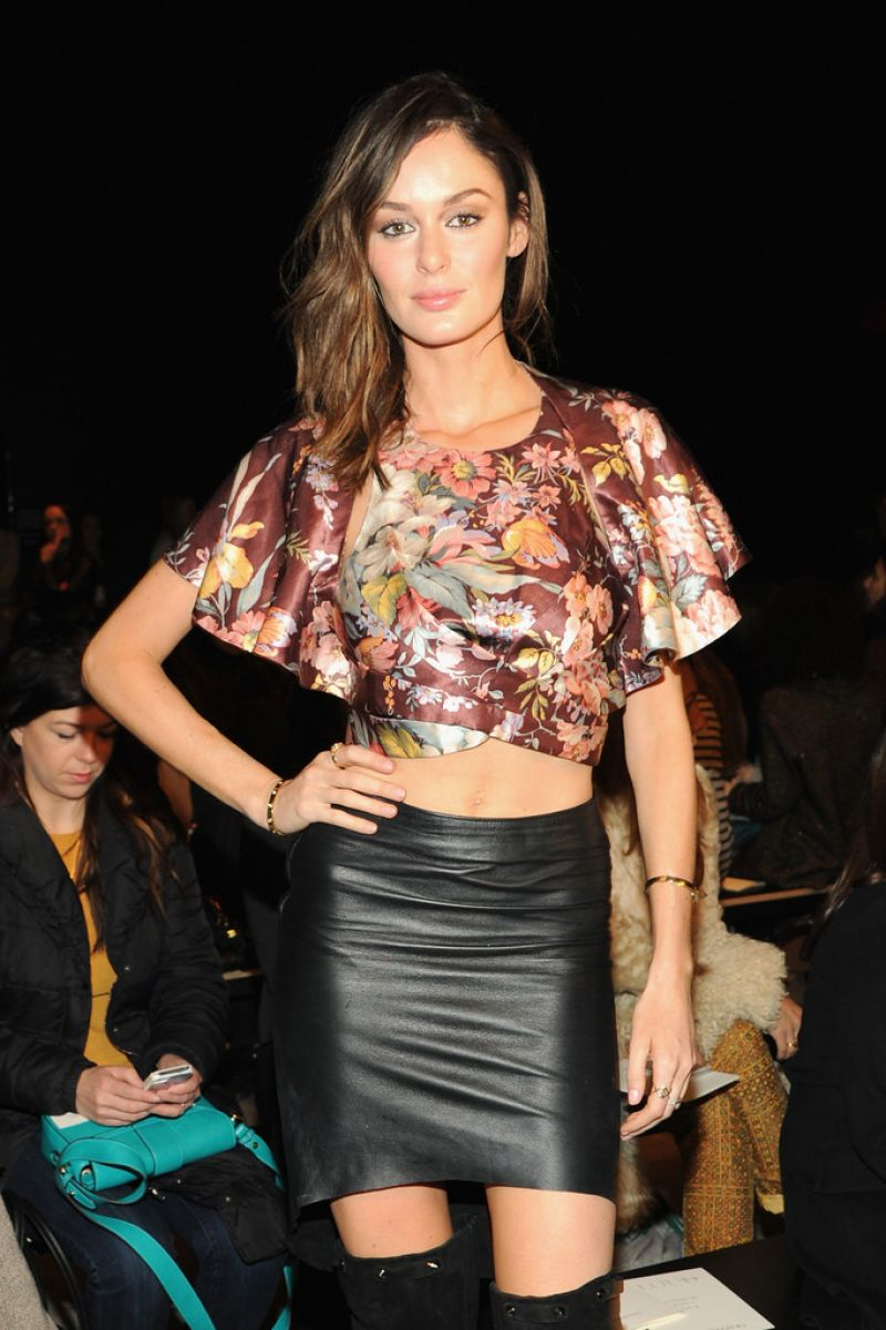 Nicole Trunfio - Zimmermann F/W 2014 Fashion Show in New York City