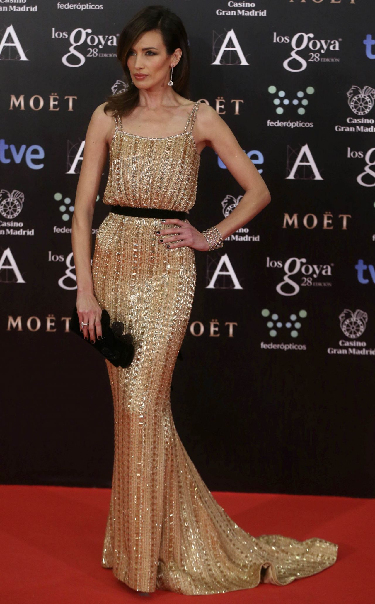 Nieves Álvarez - 2014 Goya Film Awards