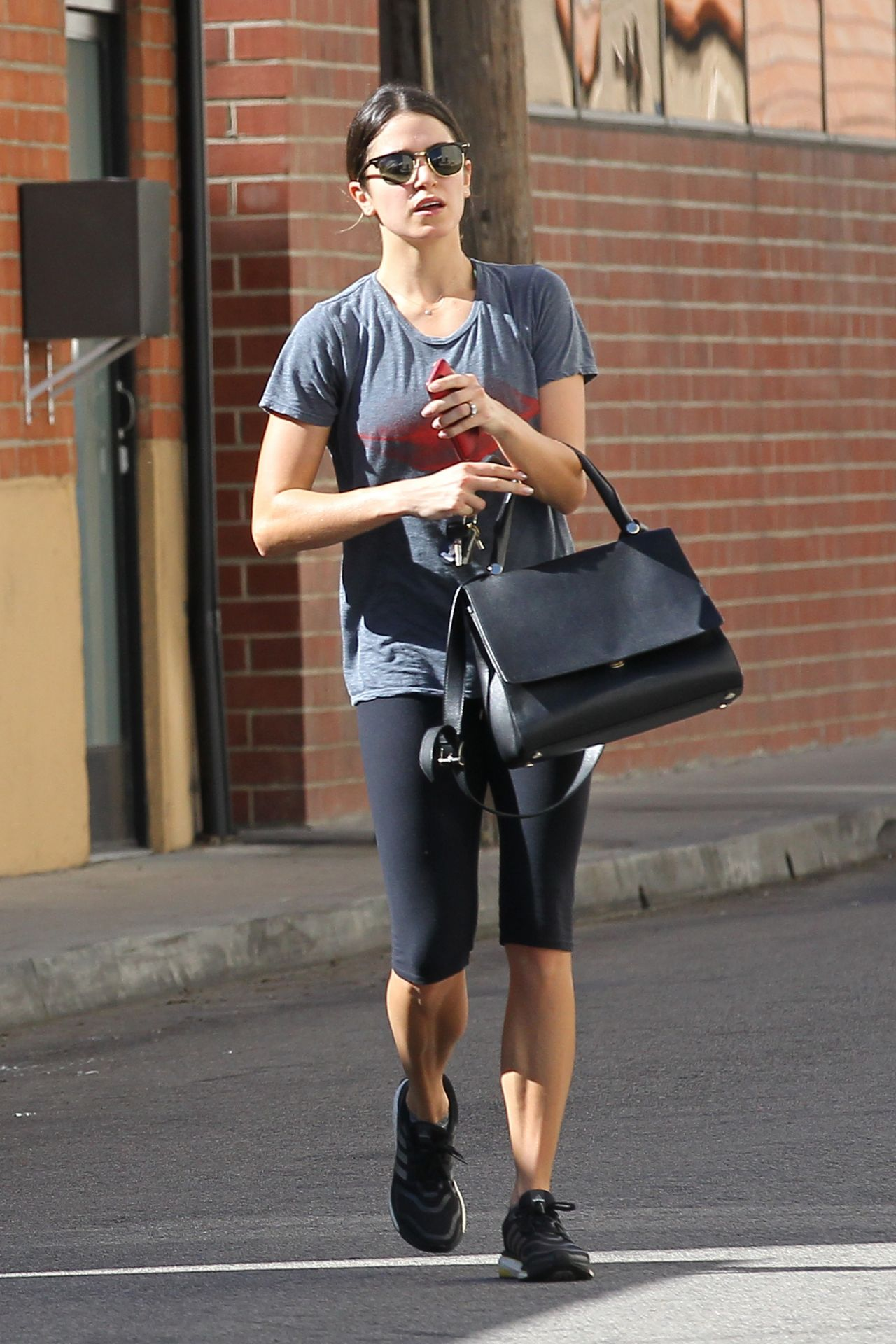 Nikki Reed Gym Style - Heads Out of the Gym Following a Morning Workout - Los Angeles, February 2014