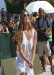 Nina Agdal - The Sports Illustrated Swimsuit 2014 Beach Volleyball Tournament