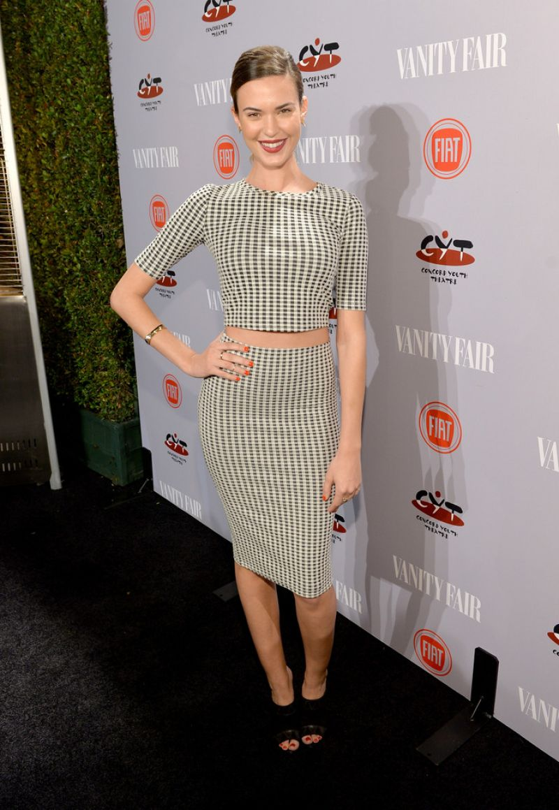 Odette Annable - Vanity Fair & FIAT Young Hollywood Event in LA, February 2014