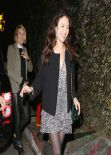 Olga Kurylenko Night Out Style - Chateau Marmont in Los Angeles - February 2014