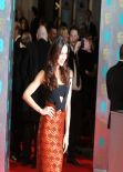 Olga Kurylenko Wearing Burberry at the BAFTA Awards in London, February 2014