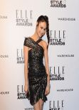 Olga Kurylenko Wearing Isabel Marant Dress – 2014 ELLE Elle Style Awards