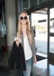 Olivia Holt - LAX Airport (Departure) - February 2014