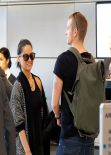 Olivia Munn - Arrives at LAX Airport - February 2014