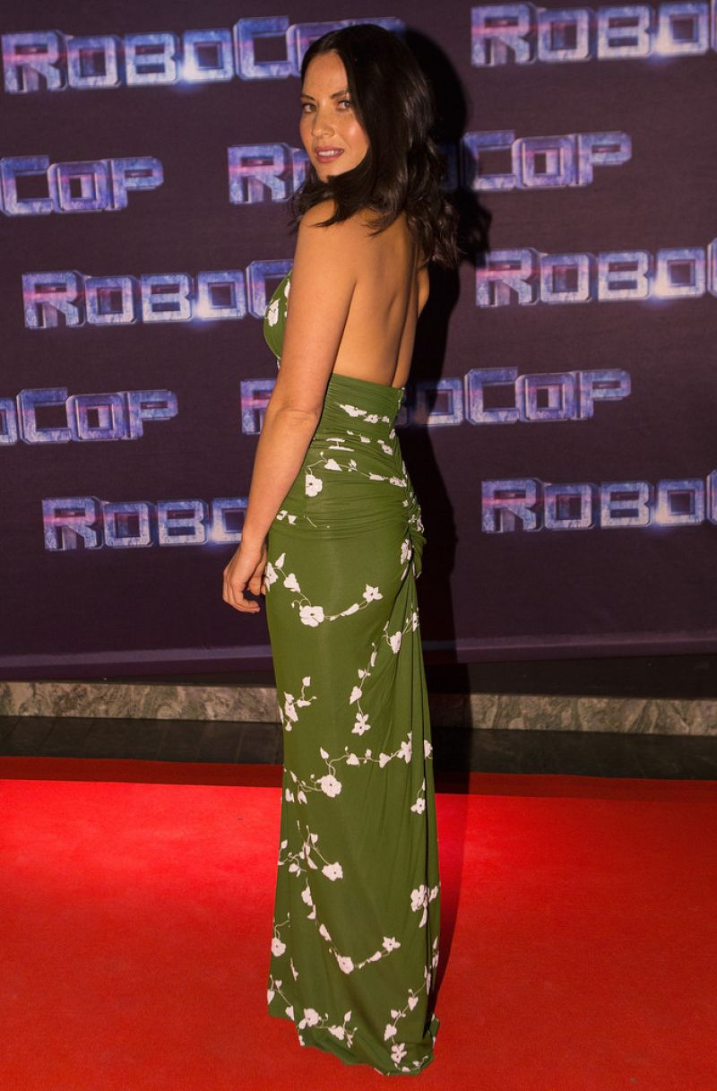 Olivia Munn - ROBOCOP Premiere in Stockholm - February 2014