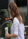 Olivia Wilde Booty in Jeans - Los Angeles, February 2014
