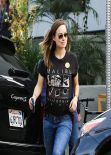 Olivia Wilde - Leaving Kentucky Wildcats vs. Tennessee Volunteers Game West Hollywood