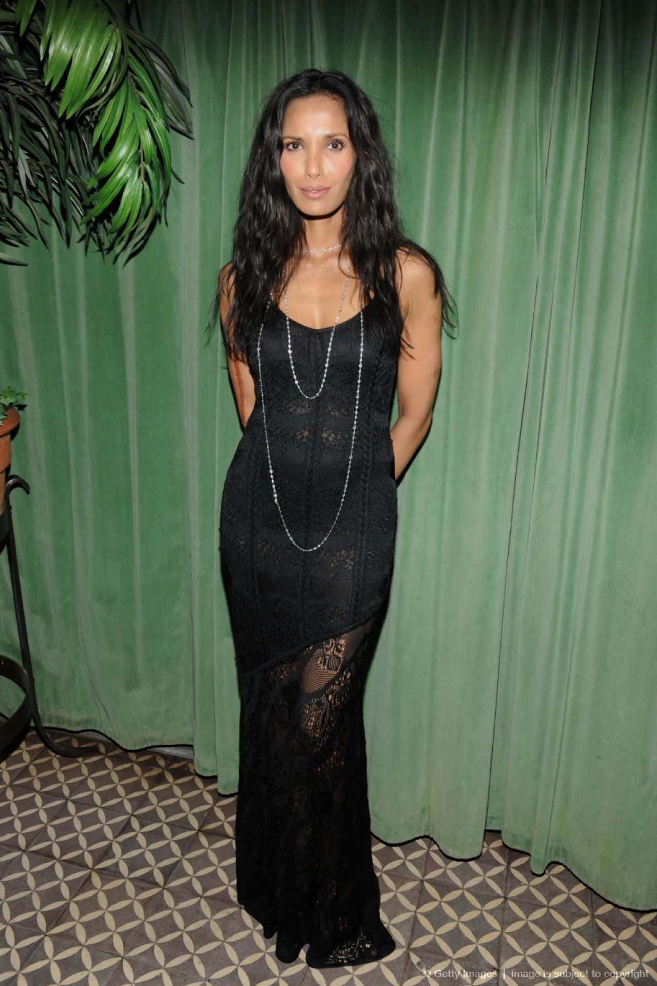 Padma Lakshmi at 2014 Turtle Ball in New York City