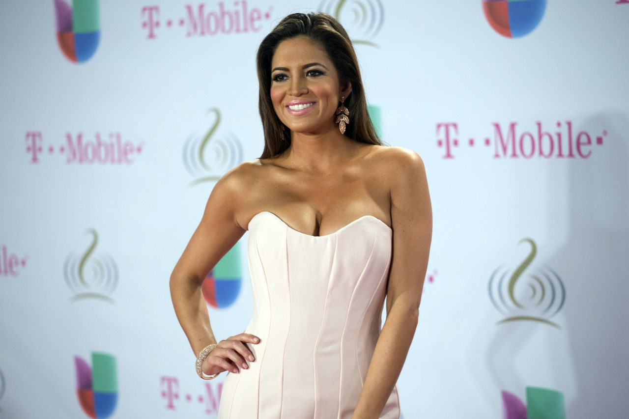 Pamela Silva Conde Attends Premio Lo Nuestro Latin Music Awards