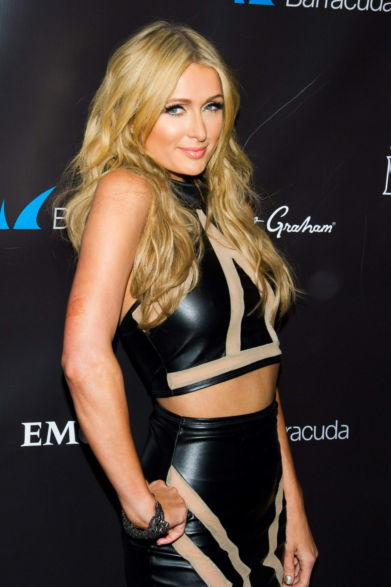 Paris Hilton 2014 Leather Amp Laces Party