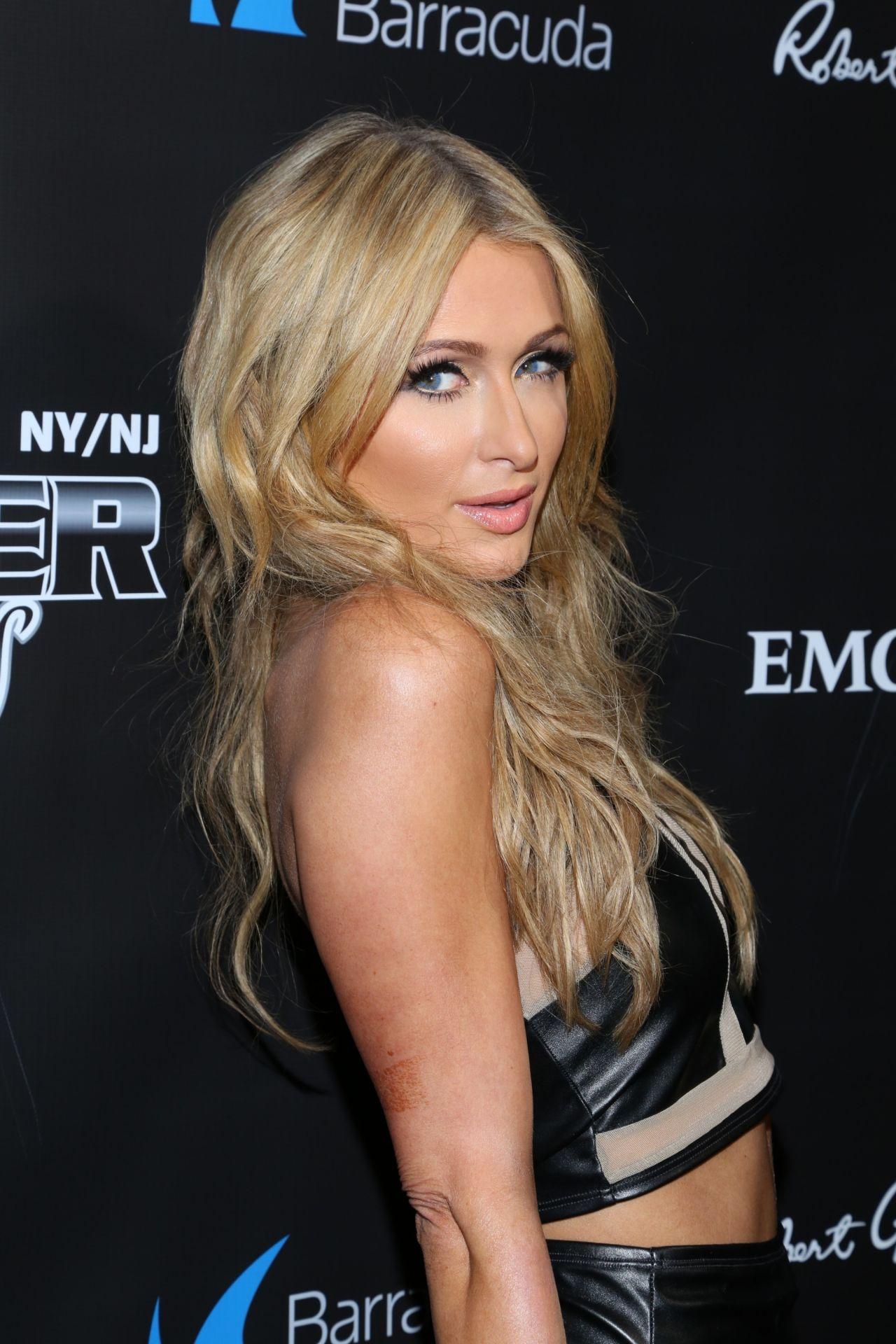 Paris Hilton 2014 Leather Amp Laces Party