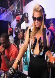 Paris Hilton at LIV at Fontainebleau - February 2014