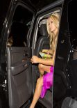 Paris Hilton Celebrated Her Birthday at North La Cienga