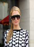 Paris Hilton Street Style - Out in Beverly Hills - February 2014