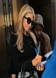 Paris Hilton Style - Out in New York City, February 2014