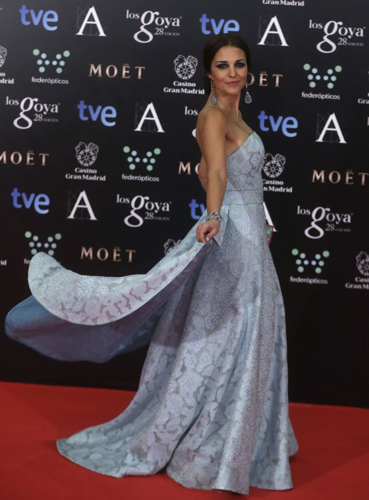 Paula Echevarría - 2014 Goya Film Awards