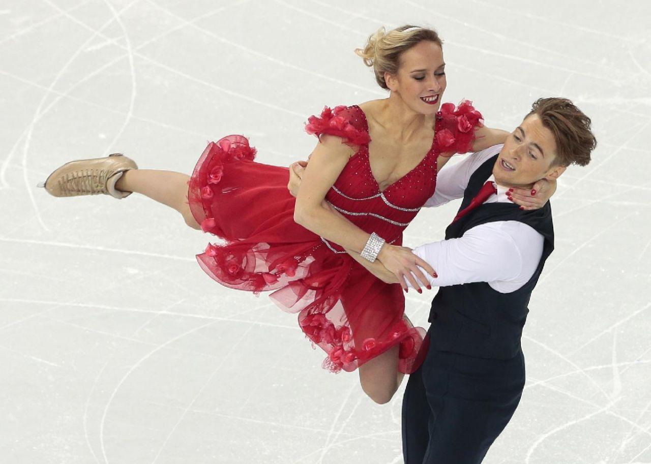 Pernelle Carron - 2014 Sochi Winter Olympics