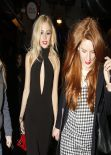 Pixie Lott - Leaving Universal BRITs 2014 After-Party in London