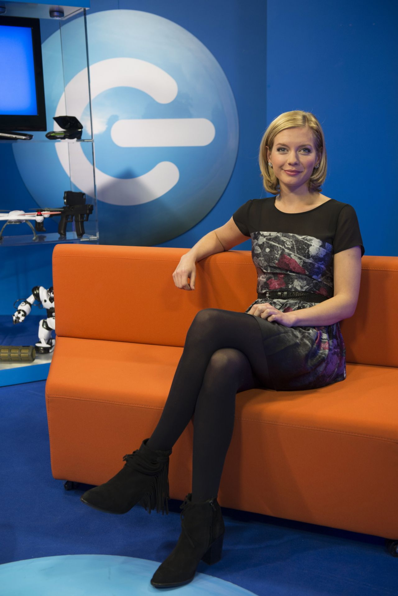 Rachel Riley - The Gadget Show Promo
